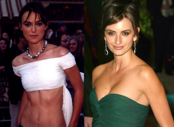 keira knightley and penelope cruz