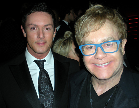 How quickly Oscars came around this year. It seemed I'd only just taken off my tuxedo in 2009, then BAM! It was back on again in 2010 for the best party in ... - Sean-Borg-with-Elton-John1