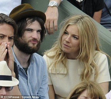 Sienna Miller and Tom Strurridge