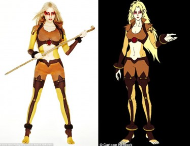 Thundercats Cartoon Network on Peaches Geldof Becomes A Sexy Thundercat    Sean Borg Goes La