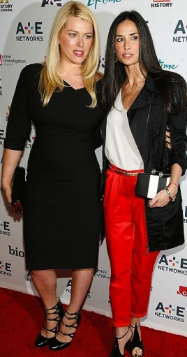 Amanda De Cadenet and Demi Moore