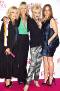 North America Rights Only - London, Britain - 6/29/16-Absolutely Fabulous-The Movie Premiere in London 5738575 -PICTURED: Jennifer Saunders, Kate Moss, Joanna Lumley and Stella McCartney -PHOTO by: Richard Young/Rex/startraksphoto.com -Startraks_RY_5738581_1104939  Editorial - Rights Managed Image - Please contact www.startraksphoto.com for licensing fee Startraks Photo New York, NY For licensing please call 212-414-9464 or email sales@startraksphoto.com Startraks Photo reserves the right to pursue unauthorized users of this image. If you violate our intellectual property you may be liable for actual damages, loss of income, and profits you derive from the use of this image, and where appropriate, the cost of collection and/or statutory damages.Mandatory Credit: Photo by Richard Young/REX/Shutterstock (5738575fp) Jennifer Saunders, Kate Moss, Joanna Lumley and Stella McCartney 'Absolutely Fabulous: The Movie' world film premiere, London, UK - 29 Jun 2016