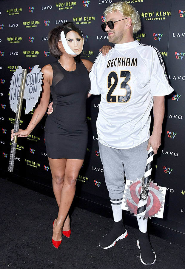 0d86840636 Scary Mel B Uses Halloween To Take a Swipe at Posh Spice Victoria Beckham!